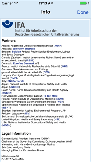 GESTIS-ILV Screenshot