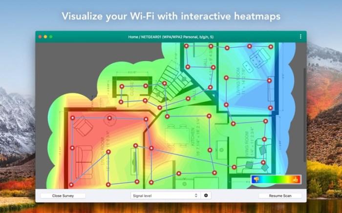 Wifiner - WiFi Analyzer Screenshot 01 58vluhn