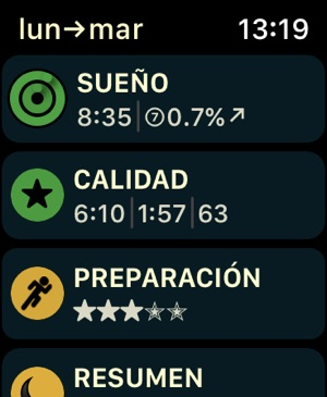 AutoSleep. Monitoriza tu sueño Screenshot
