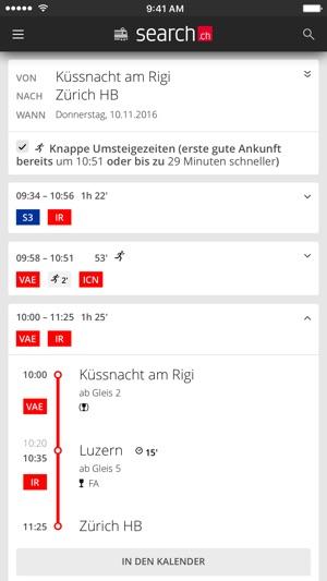 search.ch Screenshot