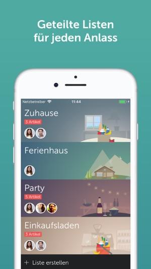 Bring! Einkaufsliste Screenshot