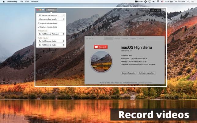 Monosnap - screenshot editor Screenshot