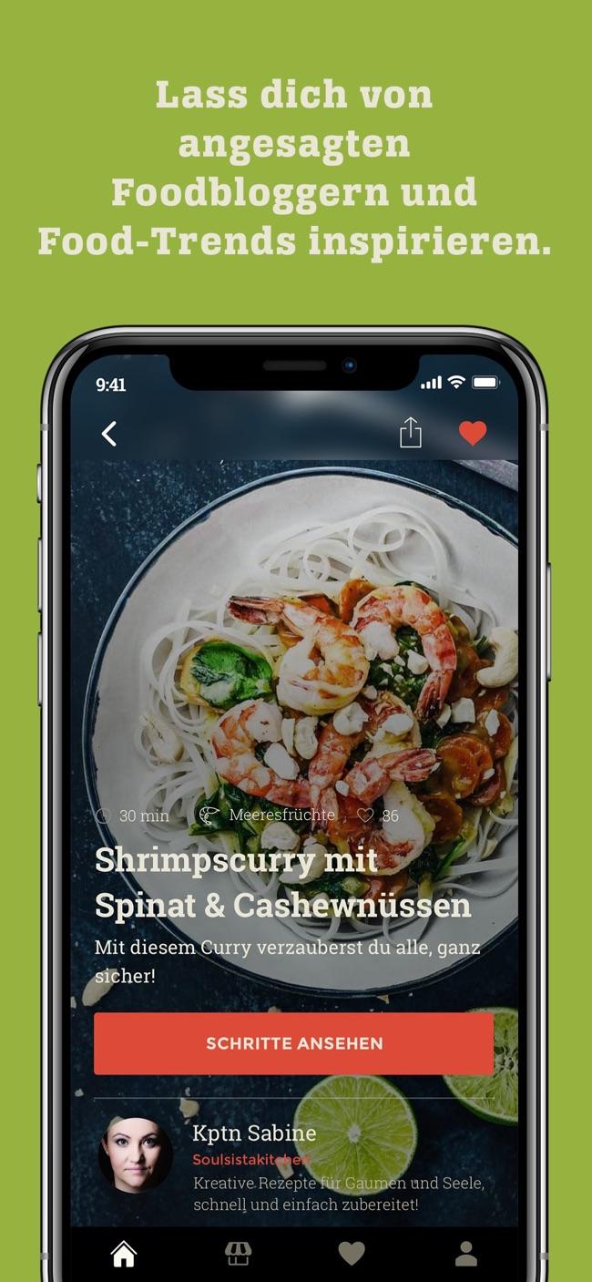 KptnCook - einfache Rezepte Screenshot