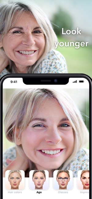 FaceApp - AI Face Editor Screenshot