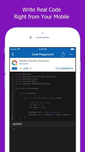 SoloLearn: Learn to Code Screenshot