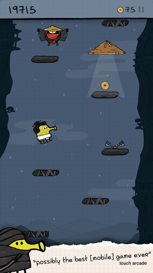 Doodle Jump - Insanely Good! Screenshot