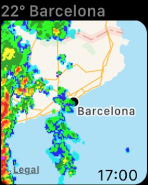 Regen-Alarm Pro - Wetterradar Screenshot