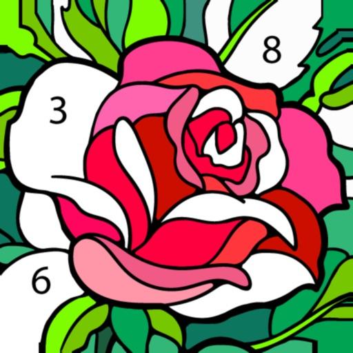 Happy Color – 数字で塗り絵。数字で色ぬりえ