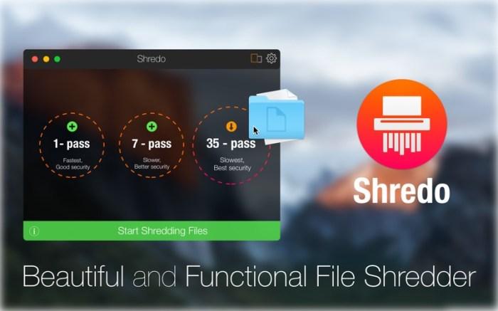 Shredo - shredder & cleaner Screenshot 01 1373yrn