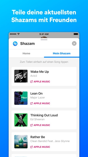 Shazam Screenshot