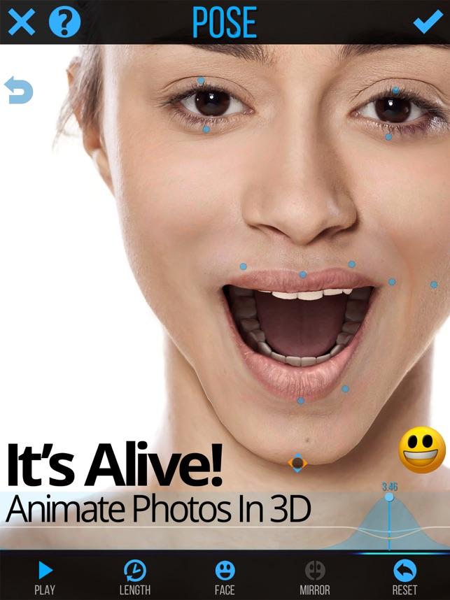 Mug Life - 3D Face Animator Screenshot