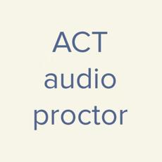 ACT Audio Proctor