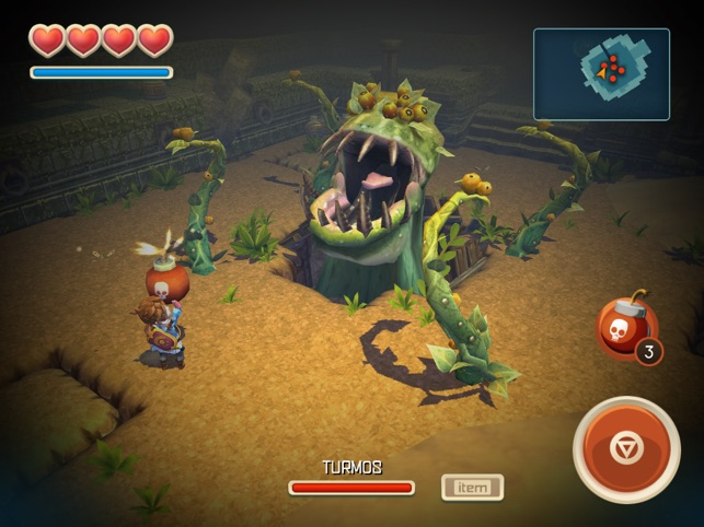 Oceanhorn ™ Screenshot