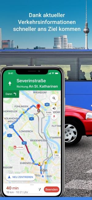 Google Maps - GPS Navigation Screenshot
