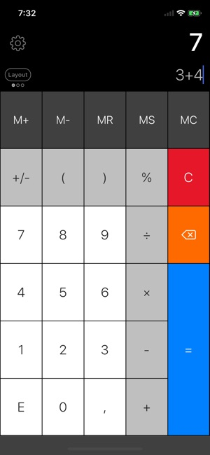 Calculator Pro Elite Screenshot