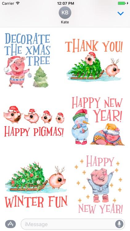 happy pigmas christmas puns
