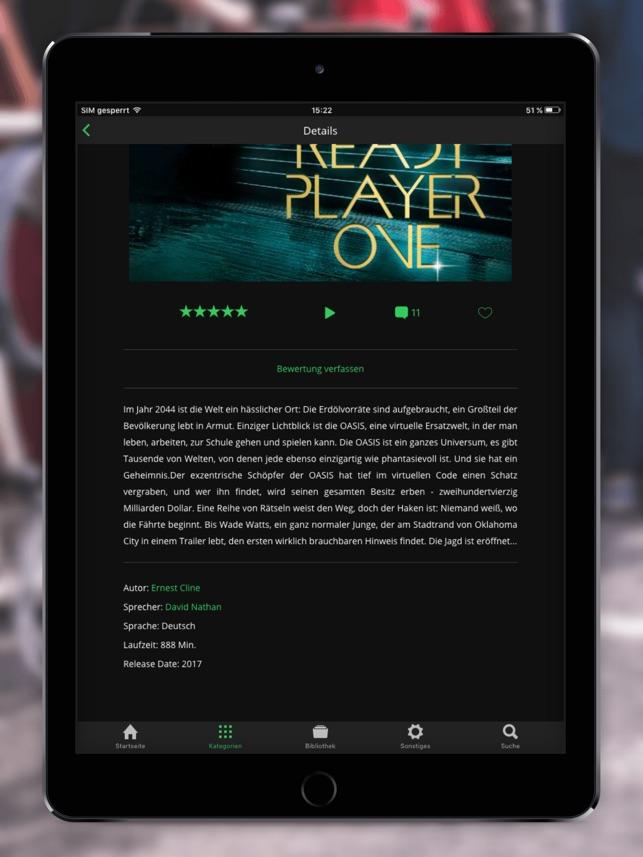 Spooks: Discover Audiobooks Screenshot