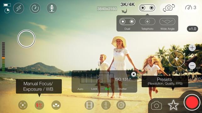 MoviePro : Video Recorder Screenshot
