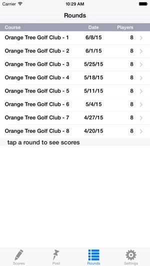 Golf Handicap Group & League on the App Store