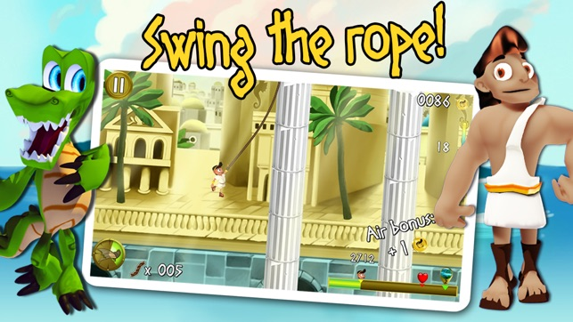 Rope Escape Atlantis Screenshot