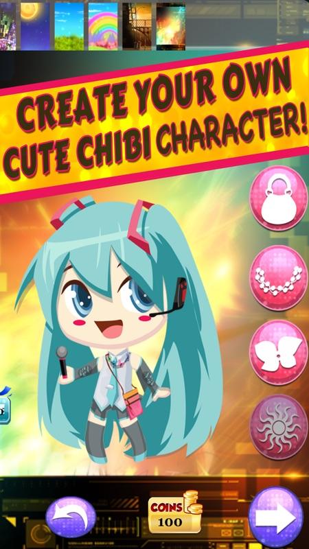 dress up chibi anime