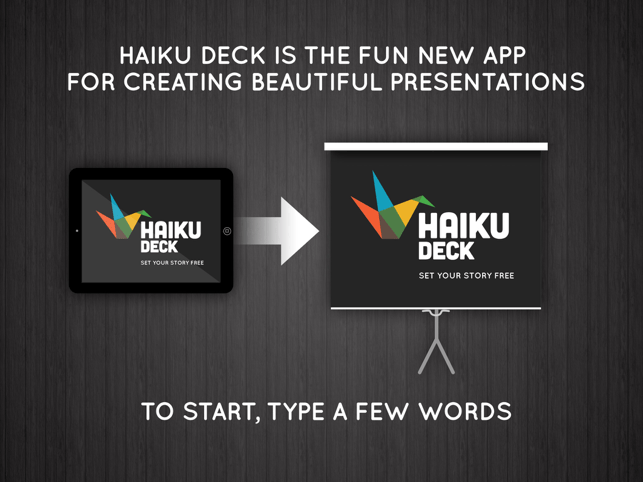 ‎Haiku Deck Screenshot