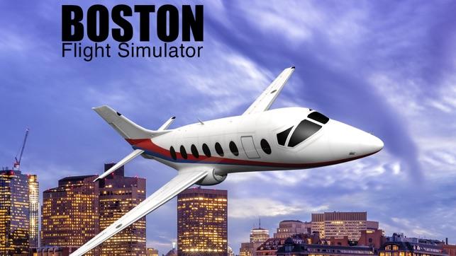 boston flight simulator on