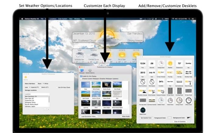 Motion Weather 4K - Ultra HD Screenshot 05 13bs0bn