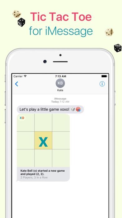 xoxo - Tic Tac Toe for iMessage Screenshot