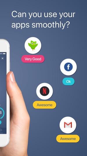 Meteor: App Speed Tester Screenshot