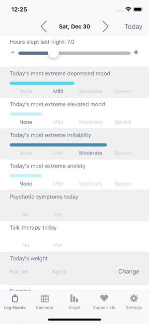 eMoods Bipolar Mood Tracker on the App Store