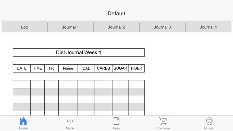 online nutrition tracker