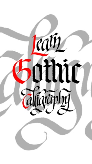 ‎Learn Gothic Calligraphy on the App Store