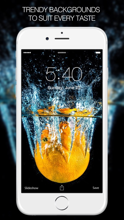 Iphone Lock Screen Wallpaper Slideshow Color Splash Wallpapers Amp Splash Pictures Hd By Rise Up Labs