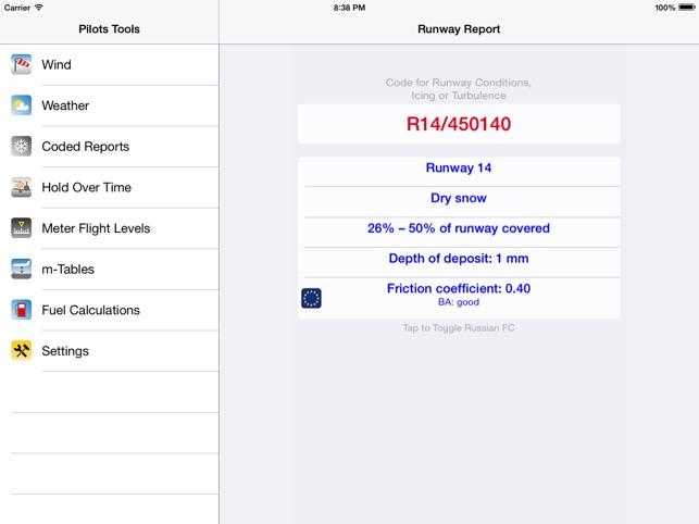 Pilot's Toolbox Screenshot