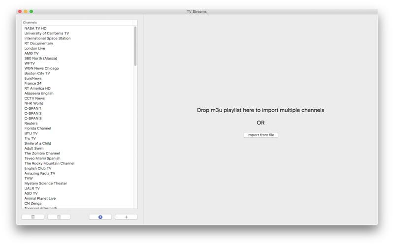 TV Streams 4.1 Mac 破解版 - 专业的网络电视应用