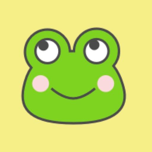 frog moji kawaii emoji