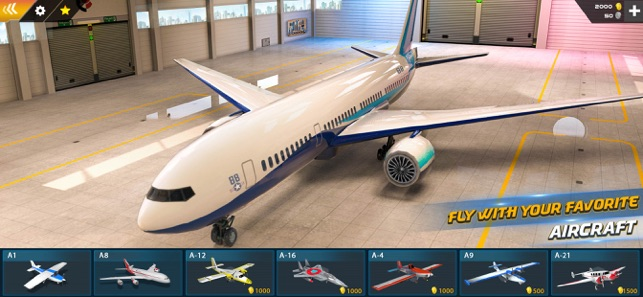 ‎Airplane Pilot Flight Screenshot