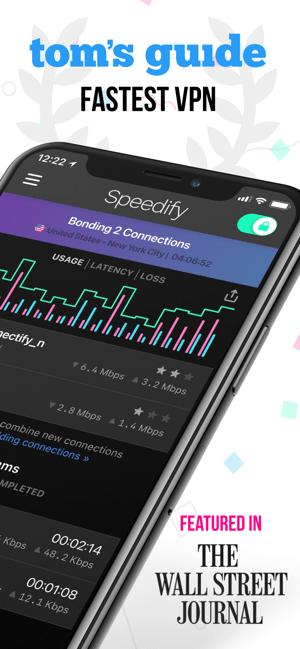 Speedify Screenshot