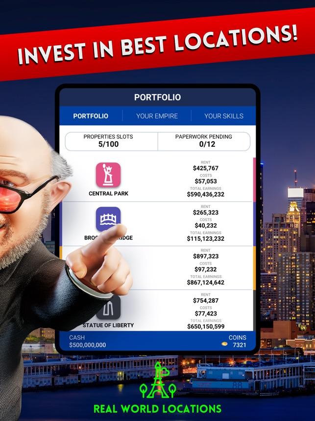 Landlord economic strategy gps Screenshot