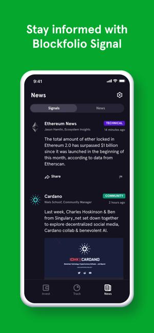 Blockfolio: Buy Bitcoin Now Screenshot