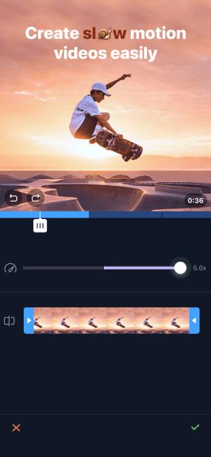 Filmr- 4k Video Editor & Maker Screenshot