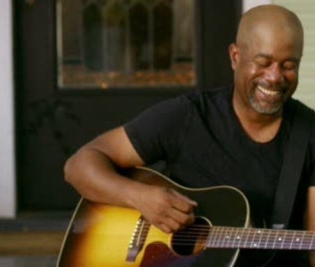 For The First Time Darius Rucker