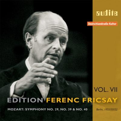 Mozart: Symphony No  29, No  39 & No  40 (Edition Ferenc Fricsay