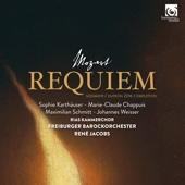 René Jacobs, RIAS Kammerchor & Freiburger Barockorchester - Mozart: Requiem, K. 626 (Süssmayr / Dutron 2016 Completion)  artwork