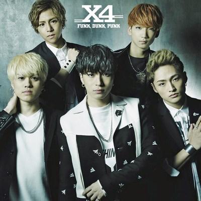 X4 - Funk,Dunk,Punk (通常盤)