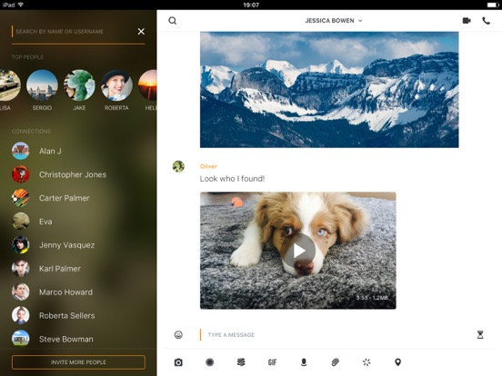 Wire — Sicherer Messenger Screenshot