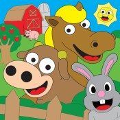 Coloring Farm Animal Coloring Book For Kids Games