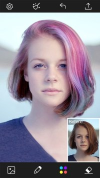 Hair Color Changer - Styles Salon & Recolor Booth App ...