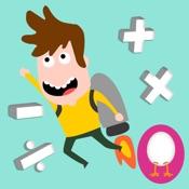 Turbo Riders: Fun Math Game for Grade 1 to 5 Kids
